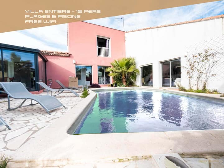 Contemporary villa & pool-Martinkey's Conciergerie