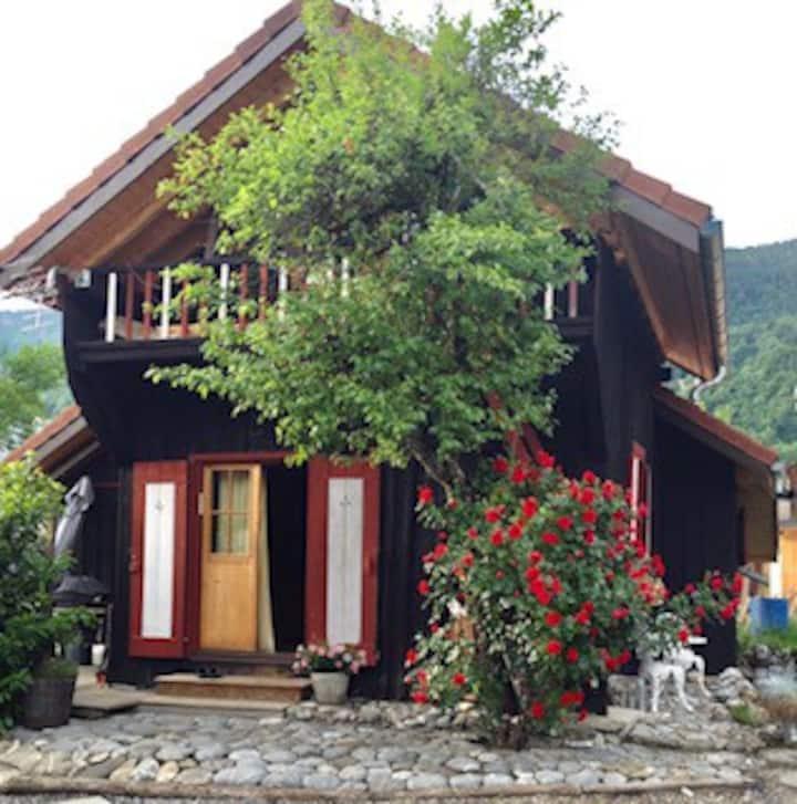 Le Mazot Nordique au pied des montagne à Samoens