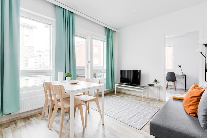 Family Apartment, 1 Bedroom, Balcony, Kitchenette