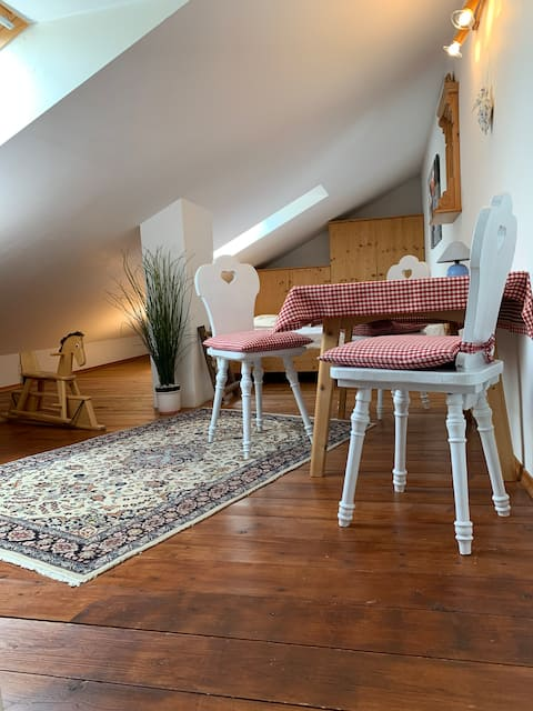 apartment for 2-5 people --> foothills of the Alps