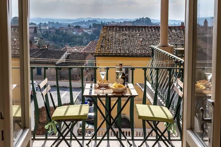 San Miniato -Terrazza panoramica in centro storico