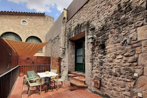 Loft com terraço La Noguera, El Vilosell