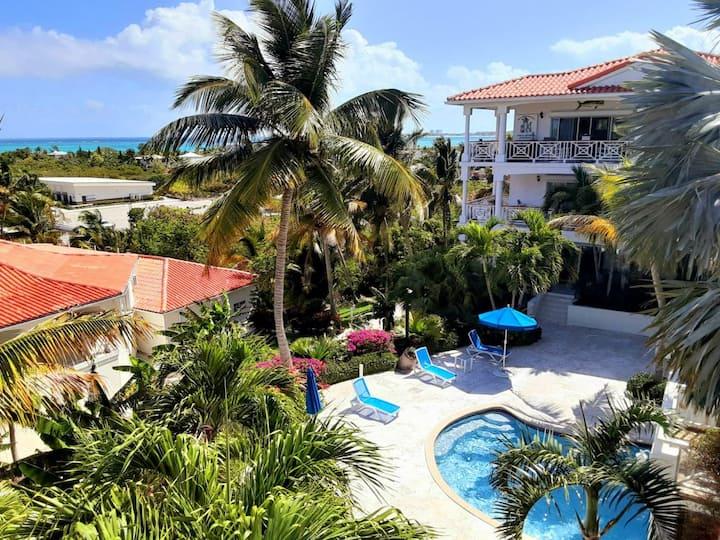 TURQUOISE BREEZE 1 Turks & Caicos ocean-view condo