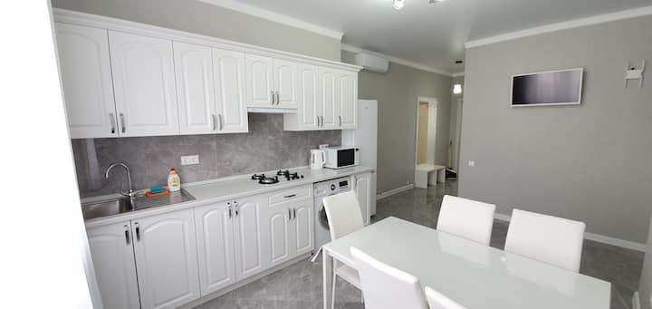Светлая 2-х комнатная квартира в частном секторе