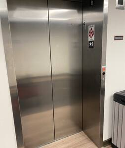 Multiple elevators the community.