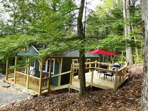 Camp Rousseau- Elegance in the Adirondack Forest