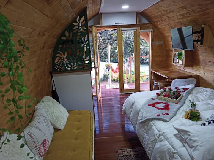 Glamping /Refugio Campestre/Cabañas tipo POD