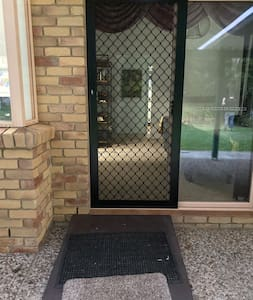 There are two side big doors with ramps .