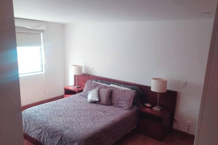 dormitorio principal, cama queen