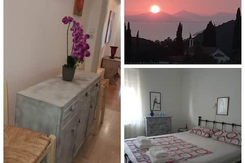 Hel lägenhet för 5 personer - Jonian Sea View