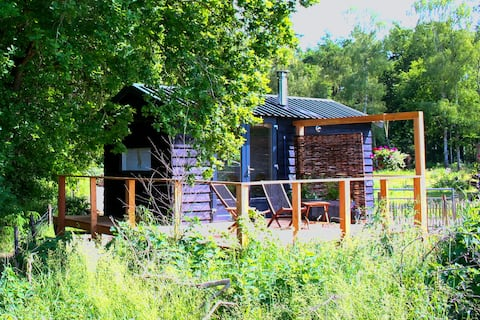 The Shepherd's Hut. A Tiny House in Ruinen.