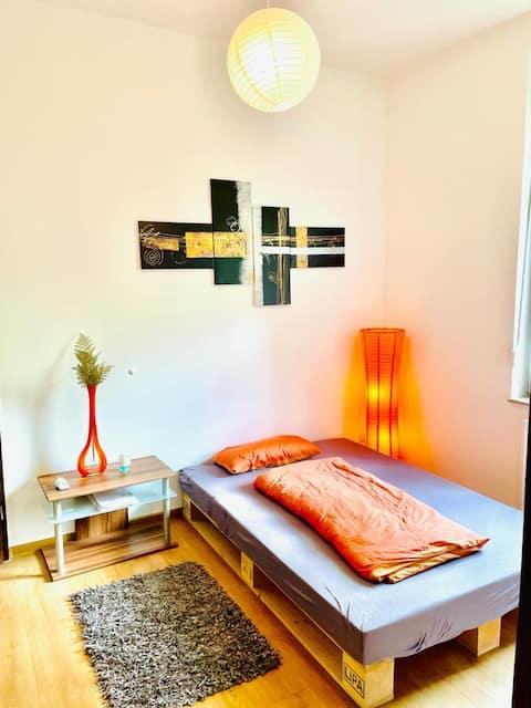 Buena Vista-Gemütliches Zimmer im Herzen Bernburgs