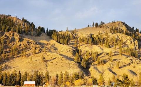 Rock Creek Mountain Views
