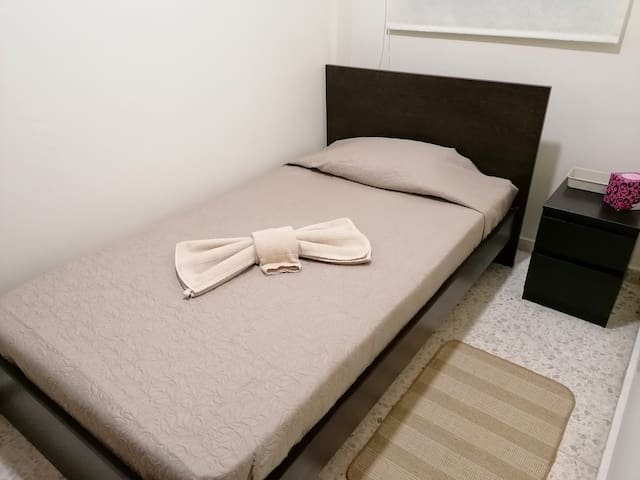 room is 5,5 sq.m. without aircondition