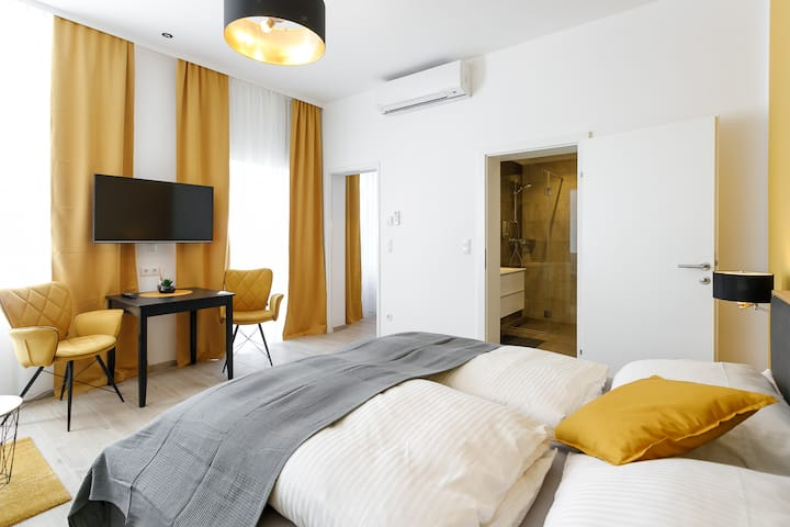 WF-Apartment zentral, trendig & modern Terrasse 5