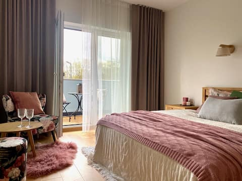 Cozy luxury – apt with sauna in the heart of Tartu