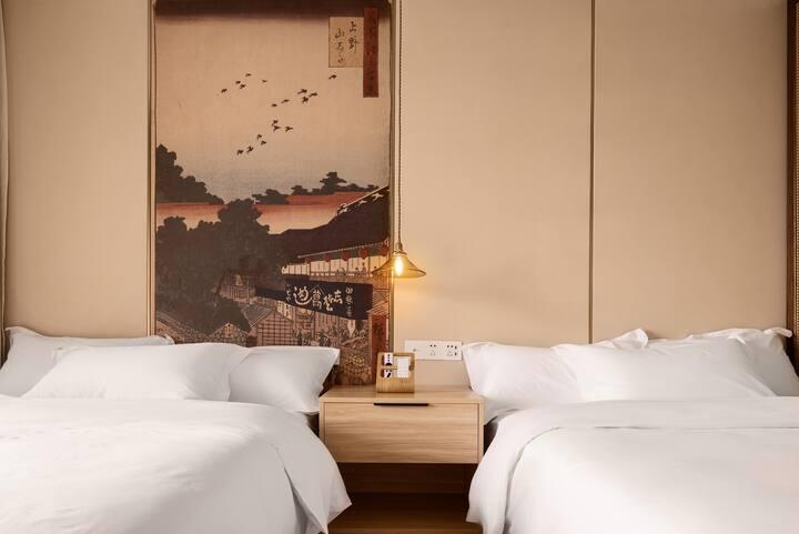 「大梦REVE HOUSE」精致双床房,独立两米阳台