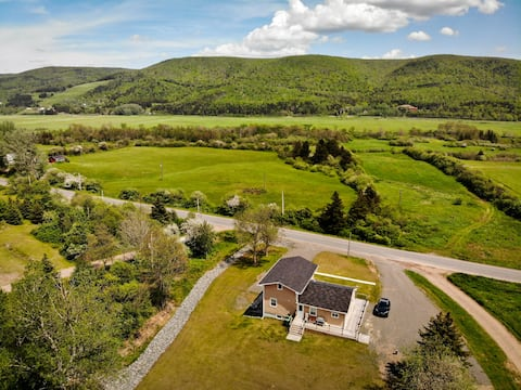 The Butterfly Cottage. Margaree Cabot Trail Home.