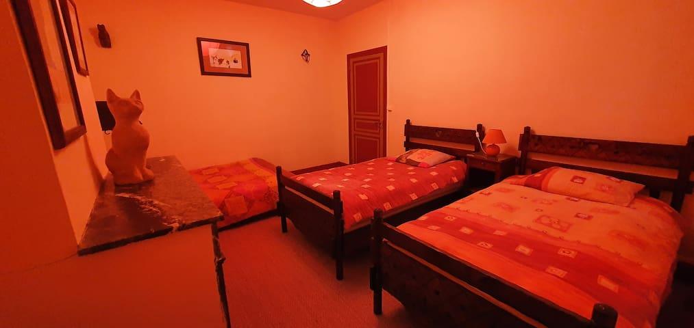 chambre 2 : orange