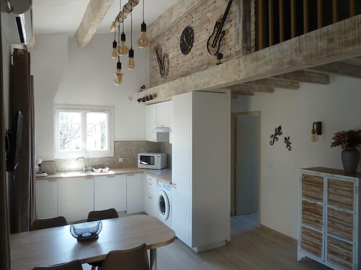 Appartement tous confort entièrement rénové