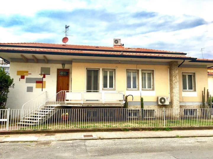 Casa Tazzoli a 1,3 Km dal mare.