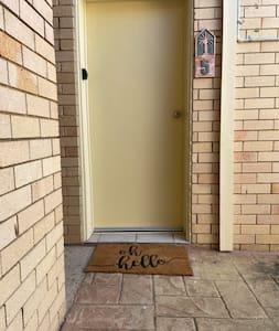 Small 5cm lip to enter front door.