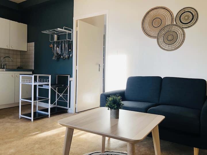 Appartement lumineux entièrement rénové Langogne