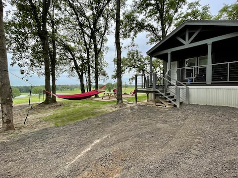Nestled Cabin with a View (Activities Included!)