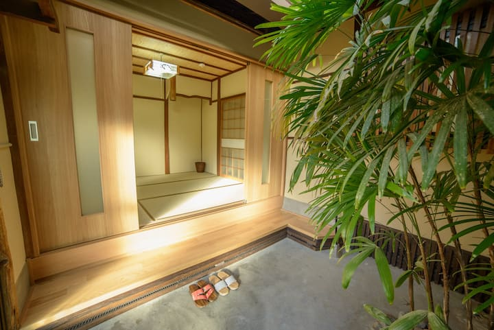 4mins to Ginkakuji! Traditional townhouse-京町家銀閣