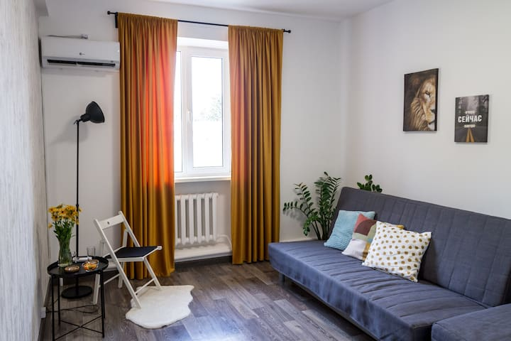 Общий вид комнаты.