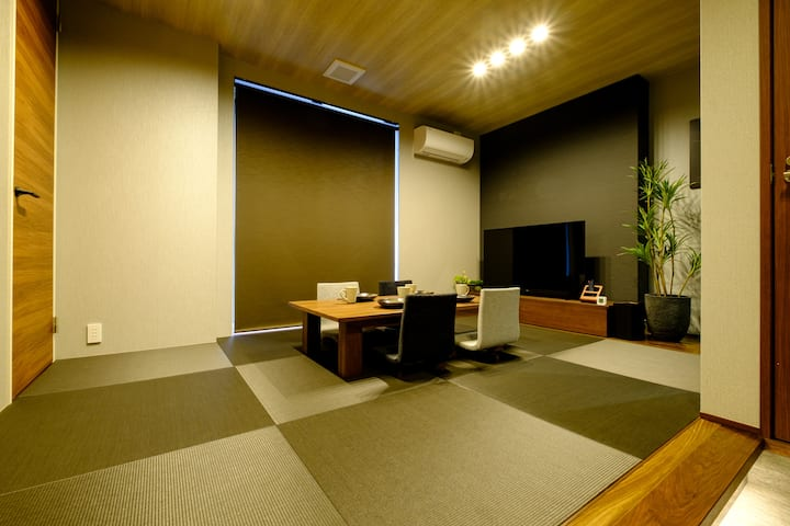 [New open special discount] Newly built * 8 minutes walk from Keikyu Kamata Station * Zen-themed room with Japanese culture
