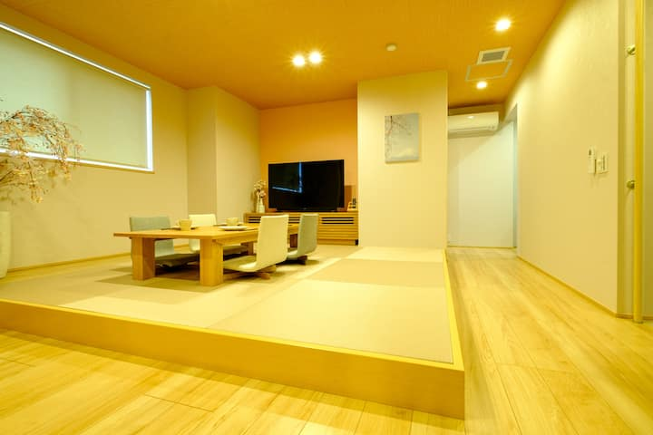 [New open special discount] Newly built * 8 minutes walk from Keikyu Kamata Station * Room with the theme of cherry blossoms, which is Japanese culture