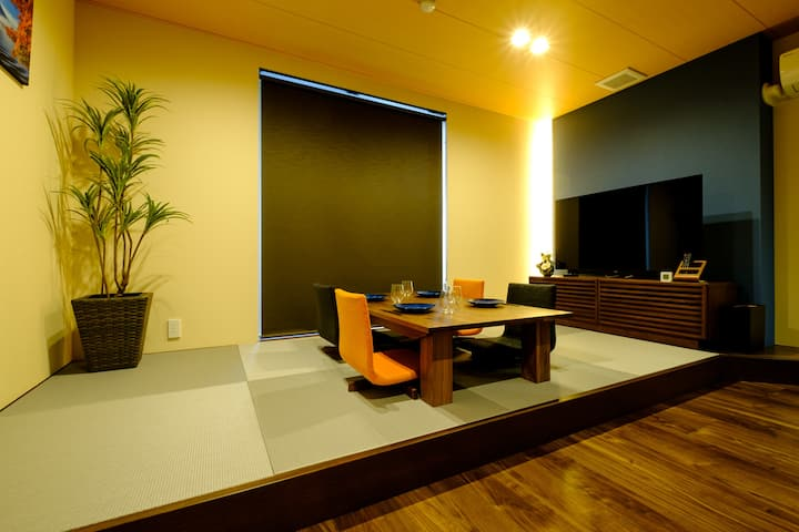 [New open special discount] Newly built * 8 minutes walk from Keikyu Kamata Station * Room with the theme of Ukiyoe a Japanese art
