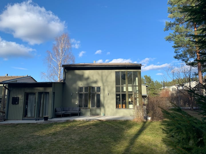 Heavenly villa in the forest of south Uppsala