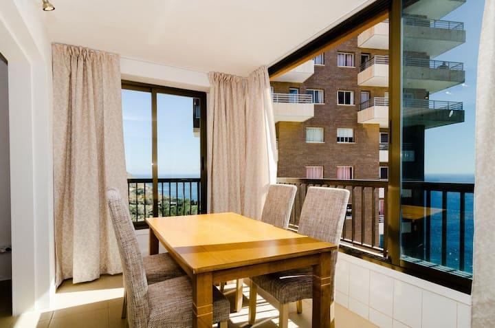 Modern apartment WIFI ac Nice views Cala almadraba