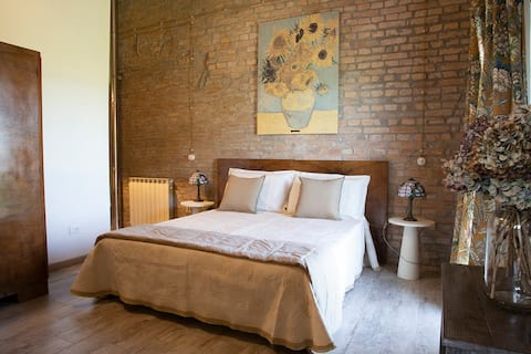 Bed & Breakfast Corte Zen van Gogh Room   Adria