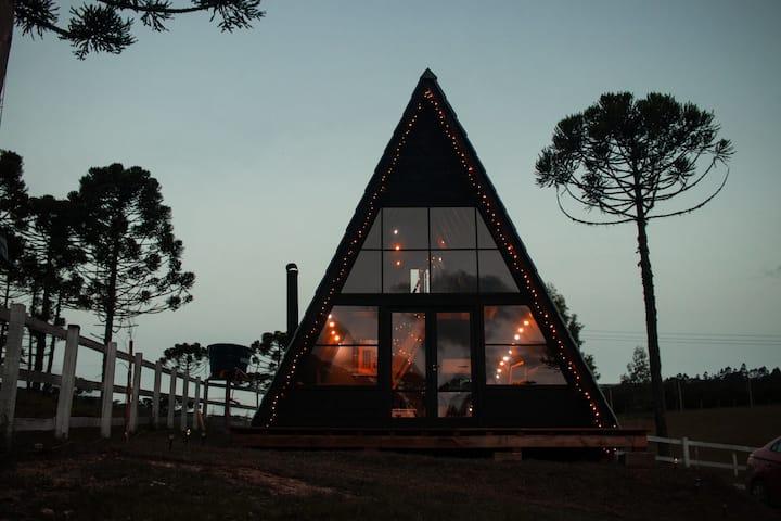 A Black Cabin Urubici