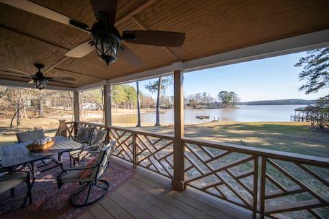 ON LAKE WATEREE: 3-bedroom w/ DOCK + kayaks