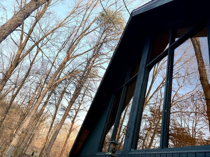 Retro | Chic | Glamping Cabin @ Woods Resort - WV