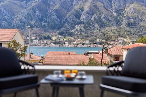 Apartamento Kotor Lux, Vistas al mar, Cerca del centro No.1
