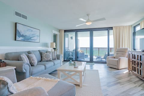 NEW!! Fully Renovated Beach Front - Sunset Views!!