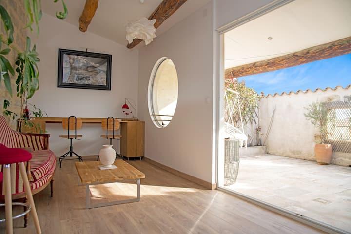 Le Paradis - Appartement avec Terrasse au soleil