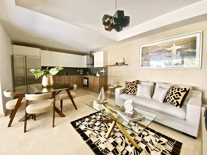 Elegant luxury apt w/pool at Punta Cana Village
