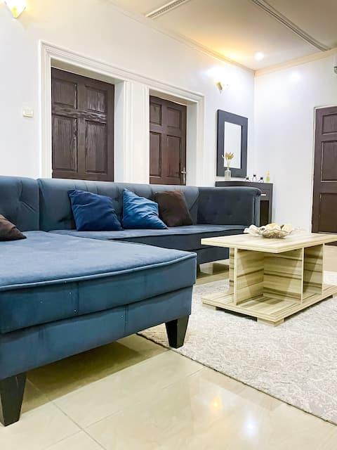 Minimalist 1 bedroom Oasis in the heart of Abuja