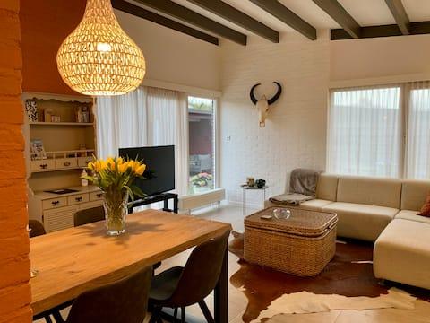 Vakantiehuisje in het hart van de Bollenstreek!