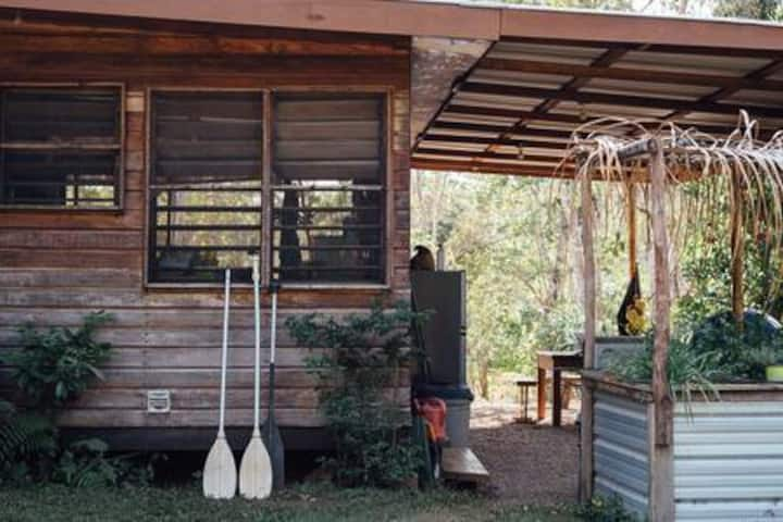 Two Jungle bungalows~on the river~No Booking Fee!