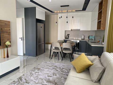 Appartements neufs, 1 +1, Centre de Alanya