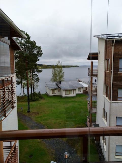 The accomodation is situated near hotel Kivitippu.