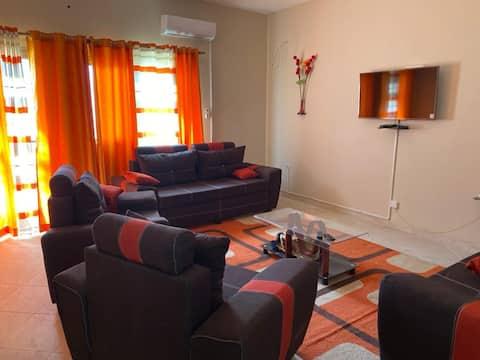 Appartement 2 chambres salon  meublé à Thiès.