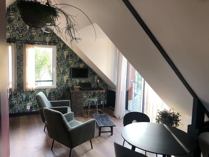 Studio ambiance nature, centre Dol de Bretagne
